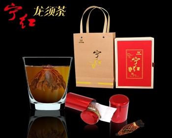 江西宁红茶礼品茶龙须茶16个礼盒装